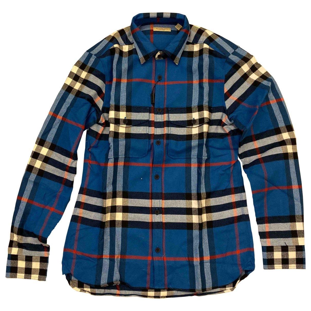 Burberry \N Hemden in  Blau Baumwolle