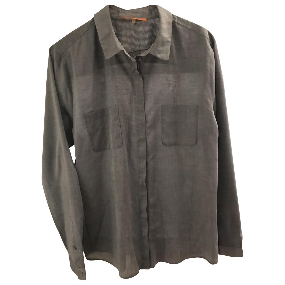 Boss \N Grey Cotton  top for Women 40 FR