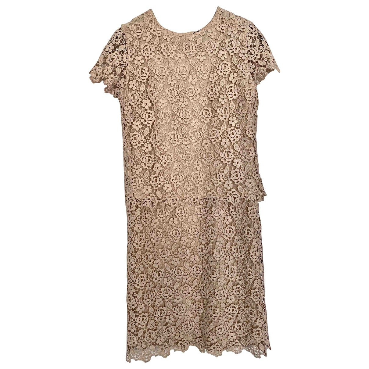 Ermanno Scervino \N Pink Lace dress for Women 40 IT
