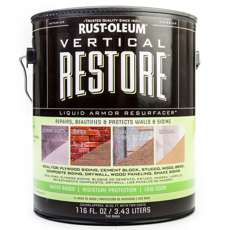 Rust-Oleum Vertical for Restoring Walls, Siding, 1 Gallon - Clear