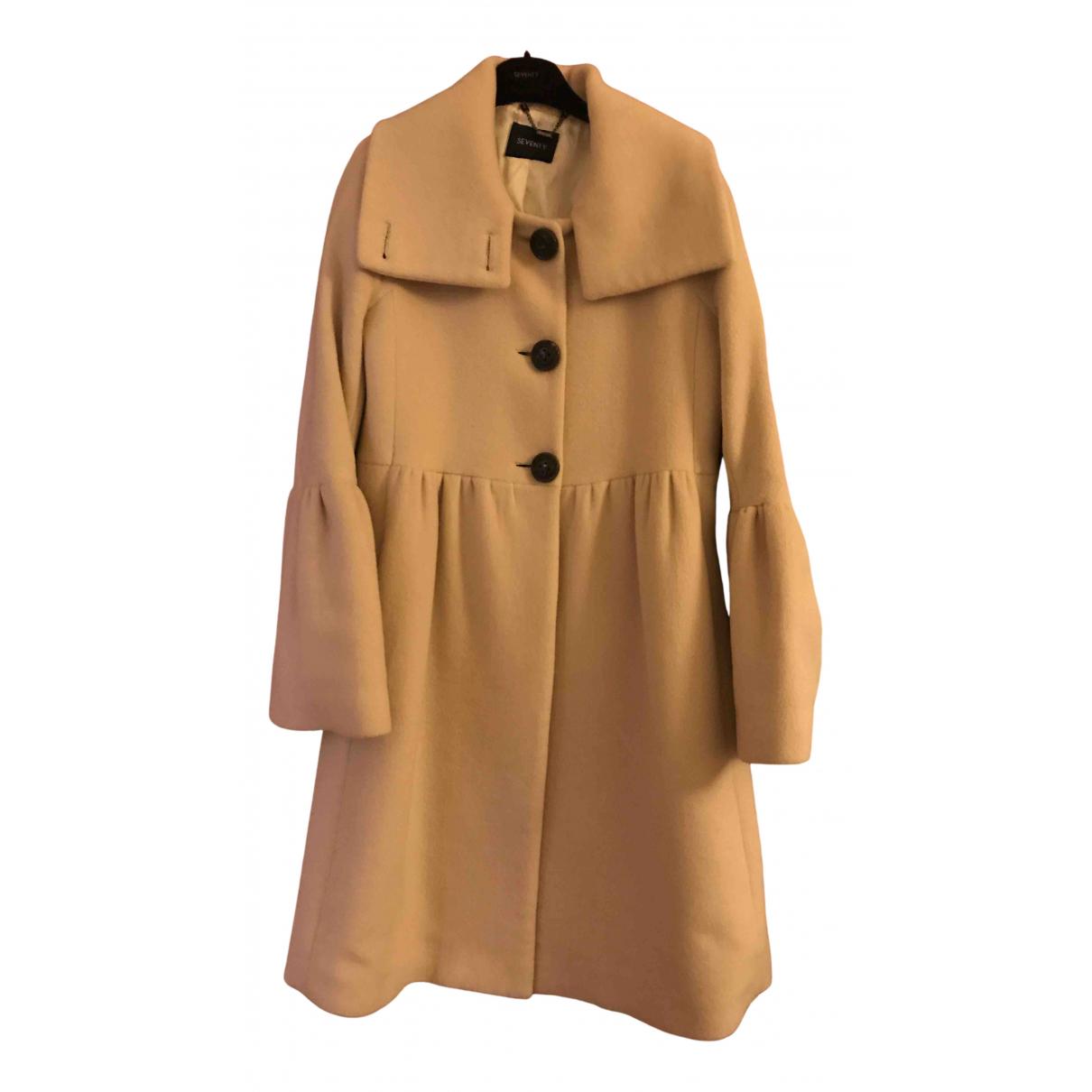 Seventy - Manteau   pour femme en laine - beige