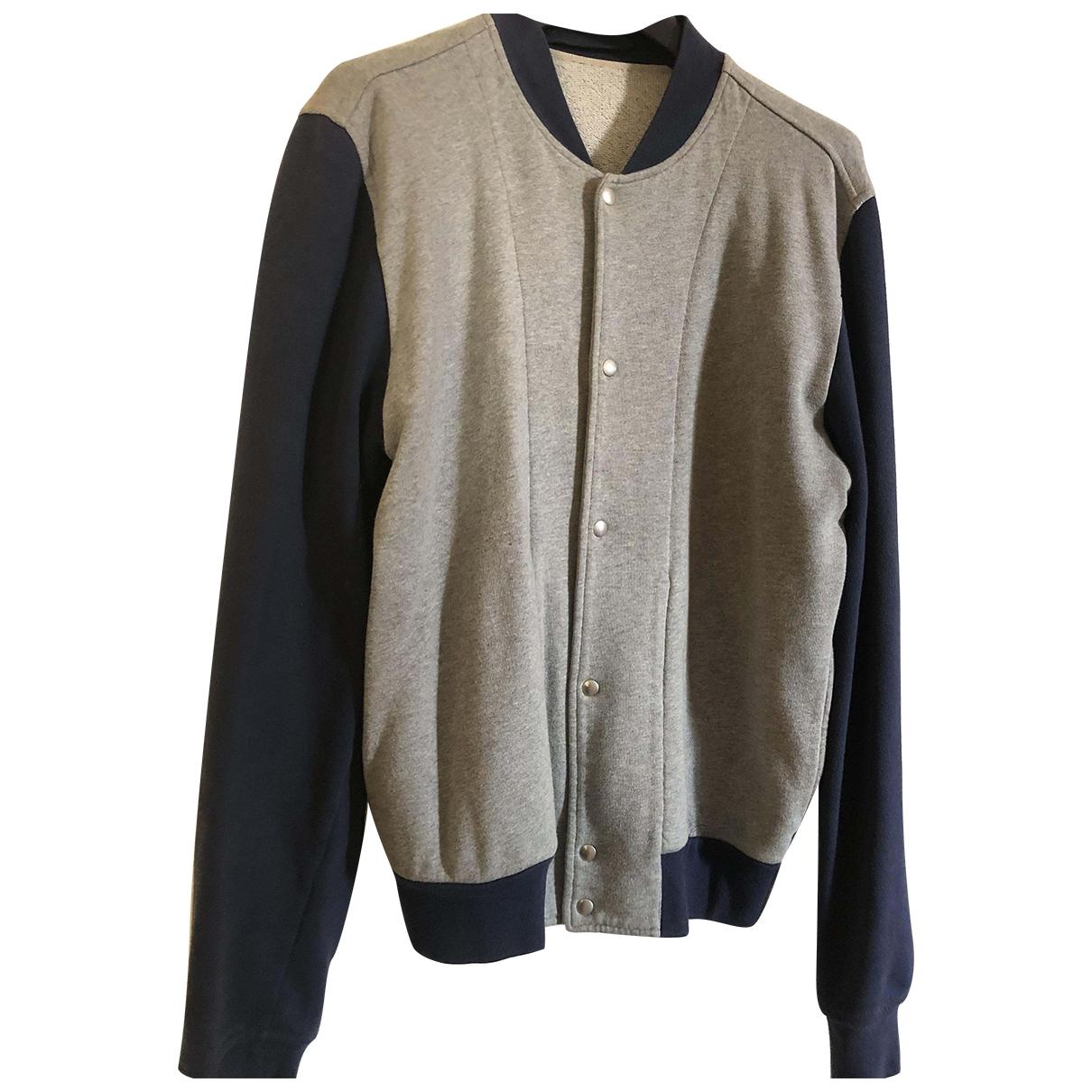 Dior Homme \N Grey Cotton Knitwear & Sweatshirts for Men M International