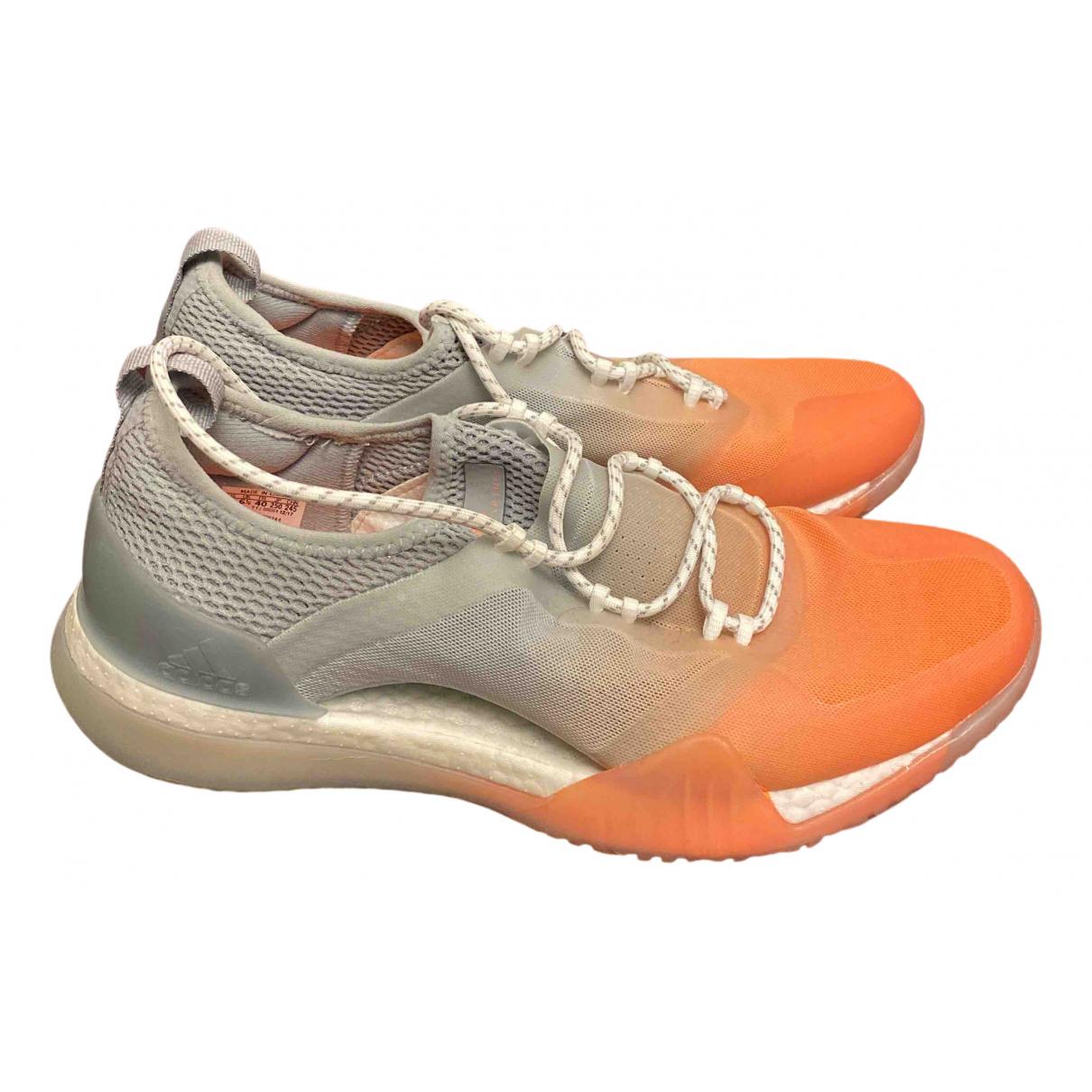Stella Mccartney Pour Adidas - Baskets   pour femme en toile - multicolore