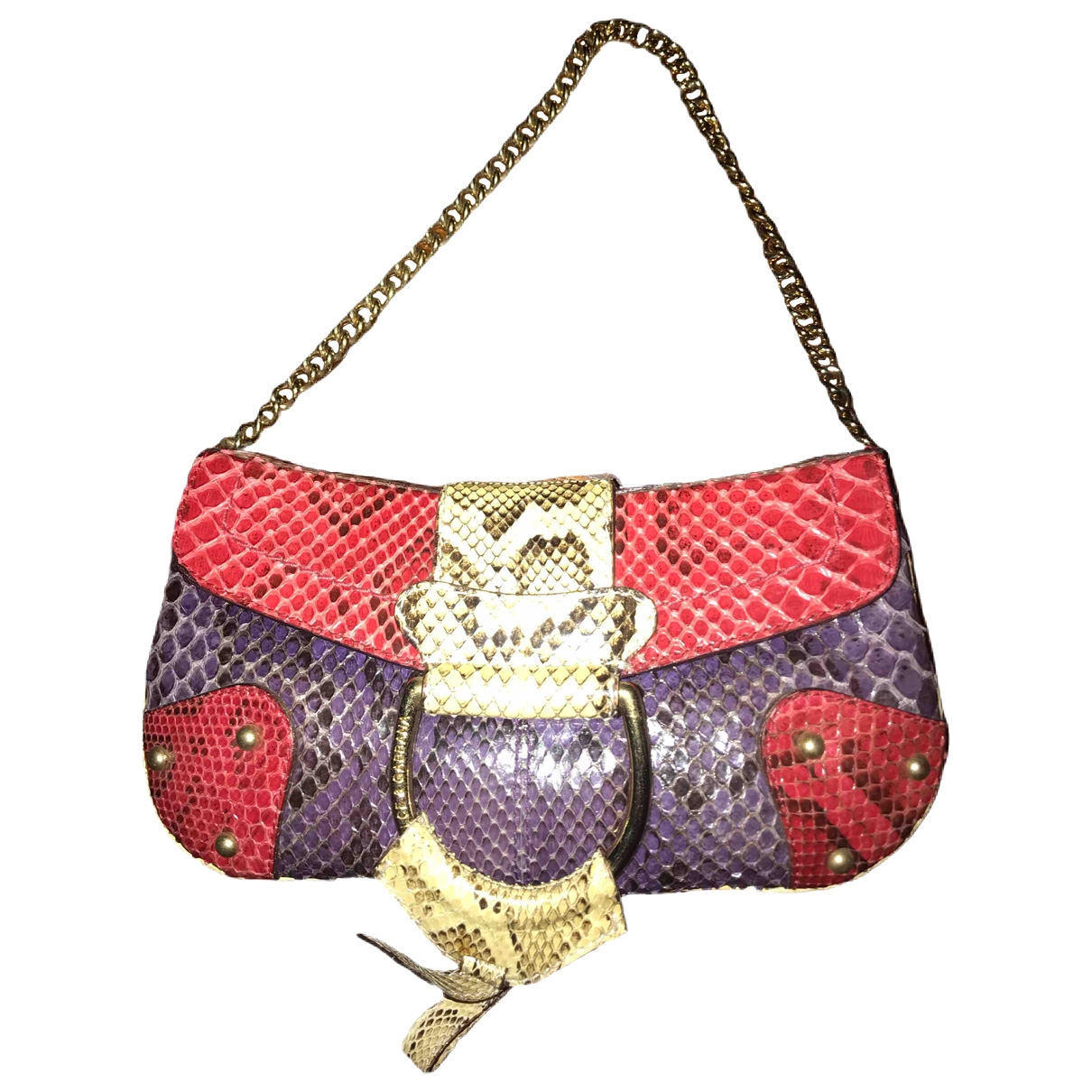 Dolce & Gabbana \N Multicolour Python Clutch bag for Women \N