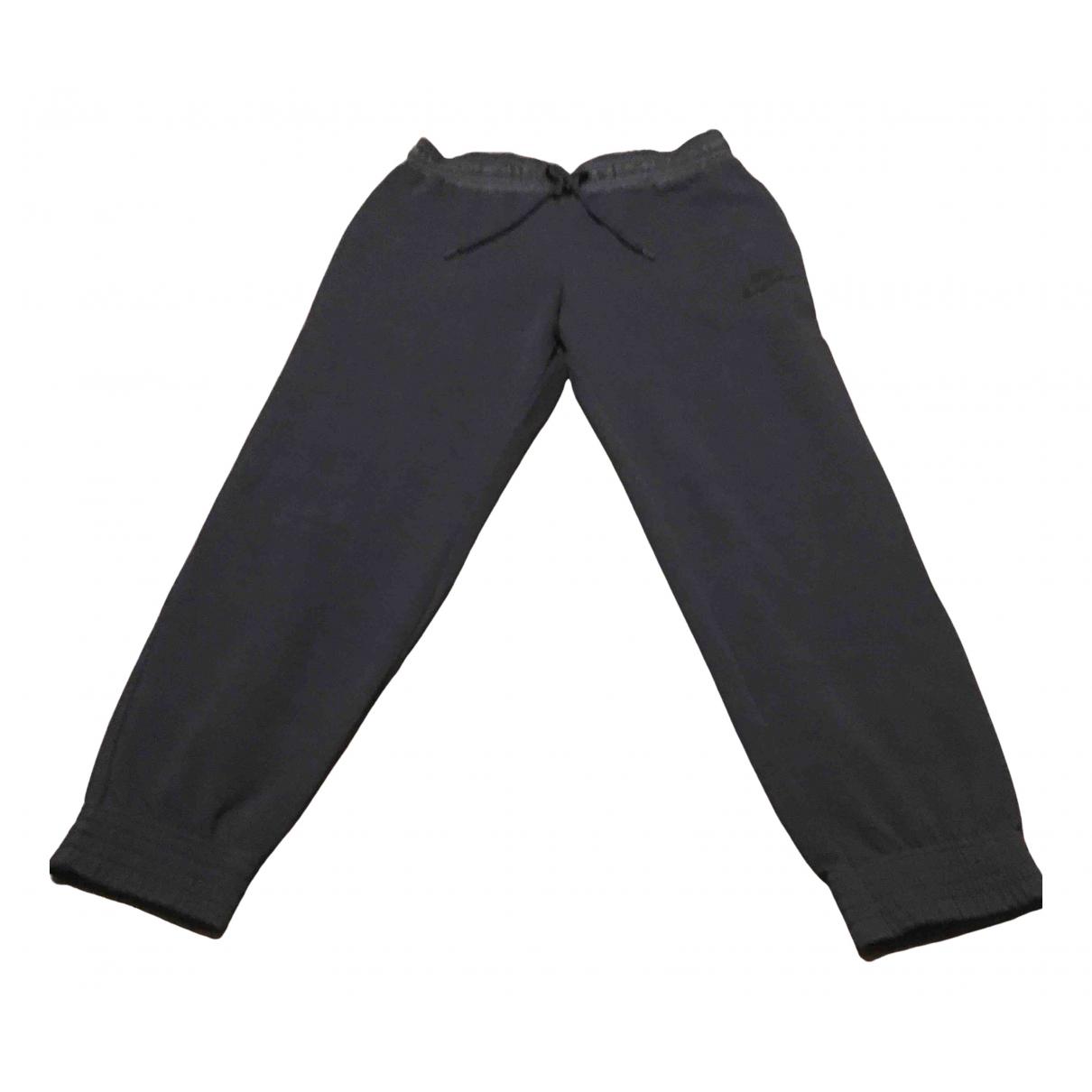 Nike - Pantalon   pour femme en coton - noir