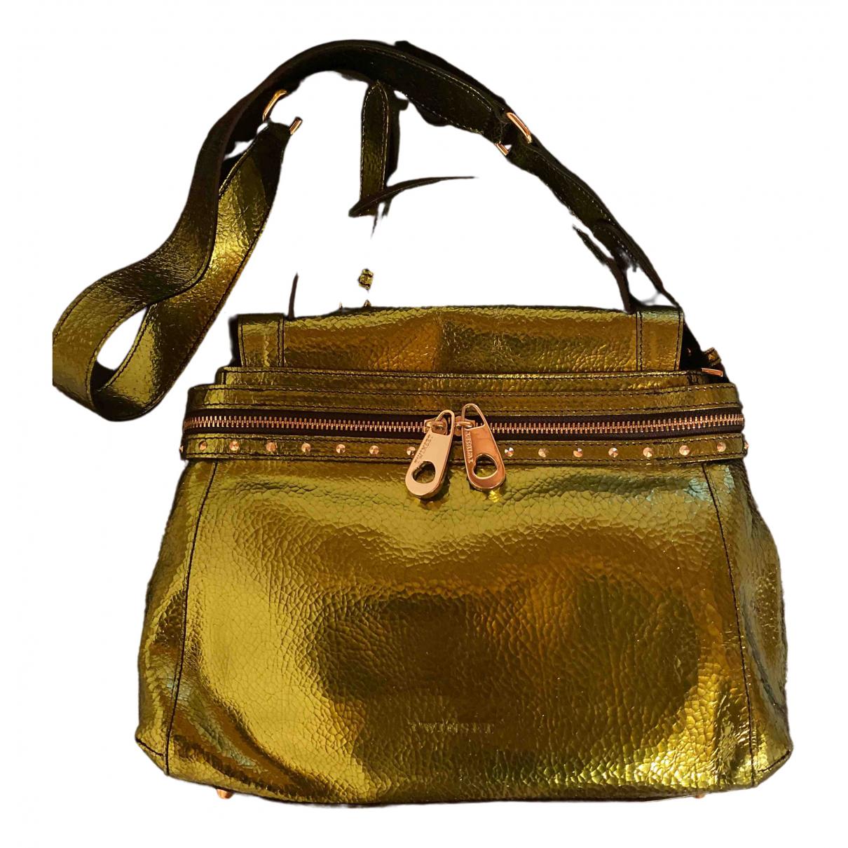 Twin Set \N Metallic Leather handbag for Women \N