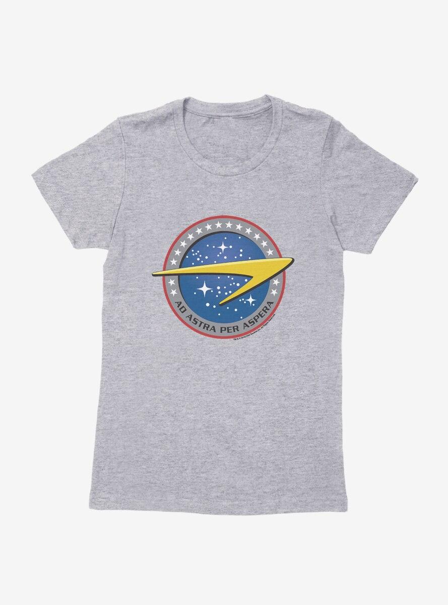 Star Trek Starfleet Command Ad Astra Womens T-Shirt