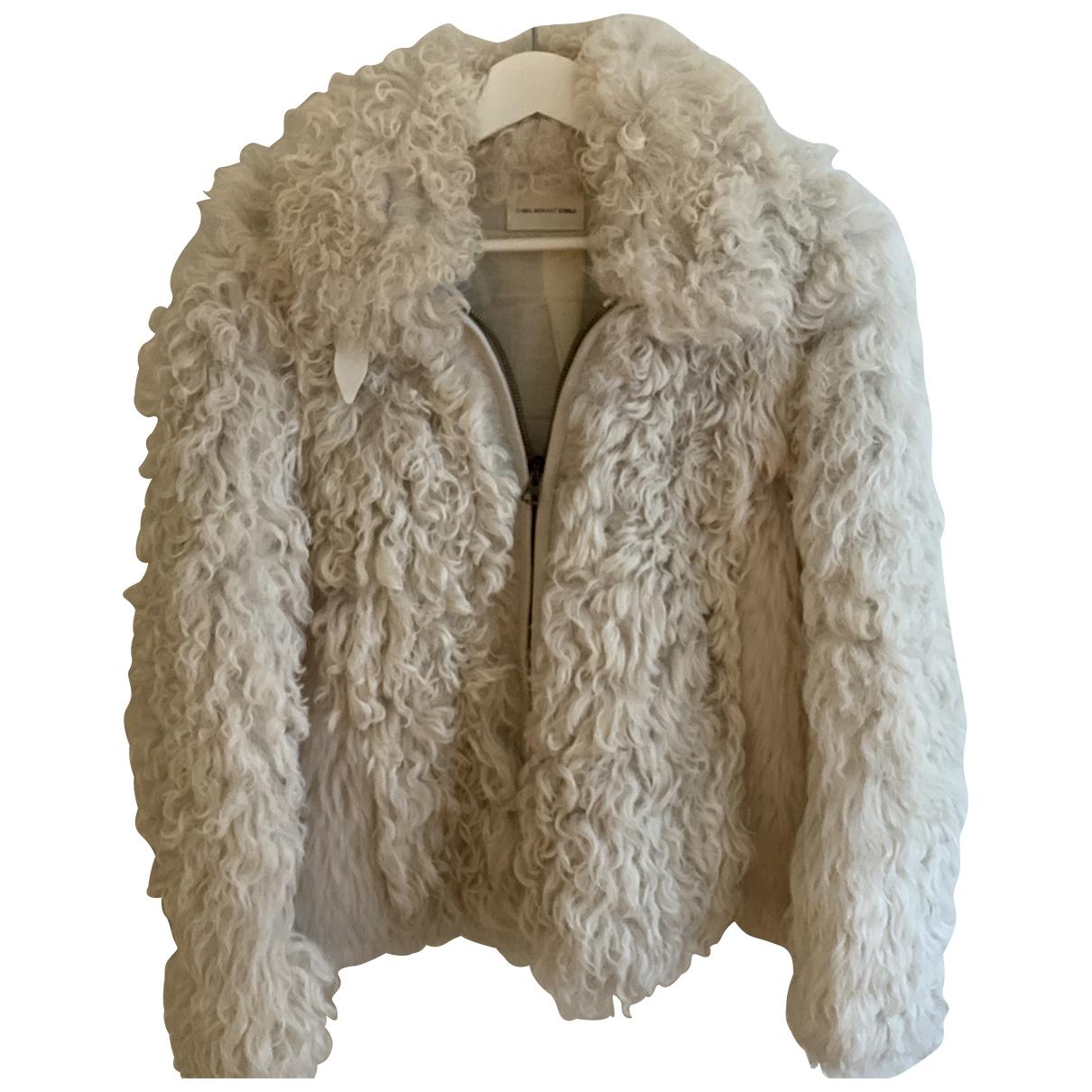 Isabel Marant Etoile \N White Shearling jacket for Women 40 FR