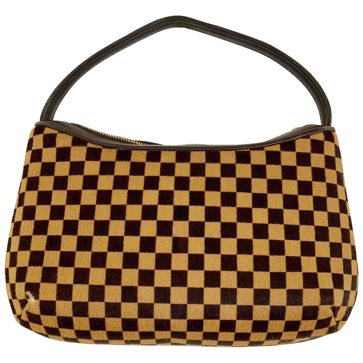 Louis Vuitton \N Brown Pony-style calfskin handbag for Women \N