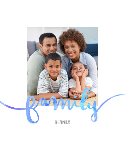 Family + Friends Canvas Print, 16x20, Home Décor -FamilyWatercolors