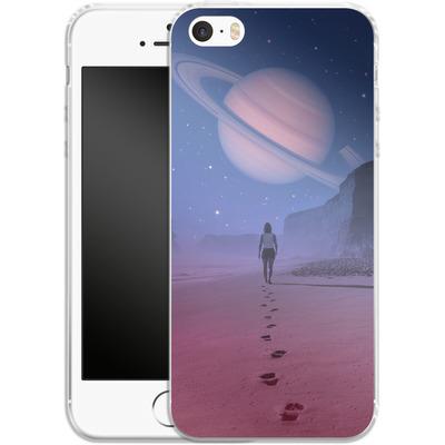 Apple iPhone 5 Silikon Handyhuelle - Glimpse of a Dream Wide von Enkel Dika