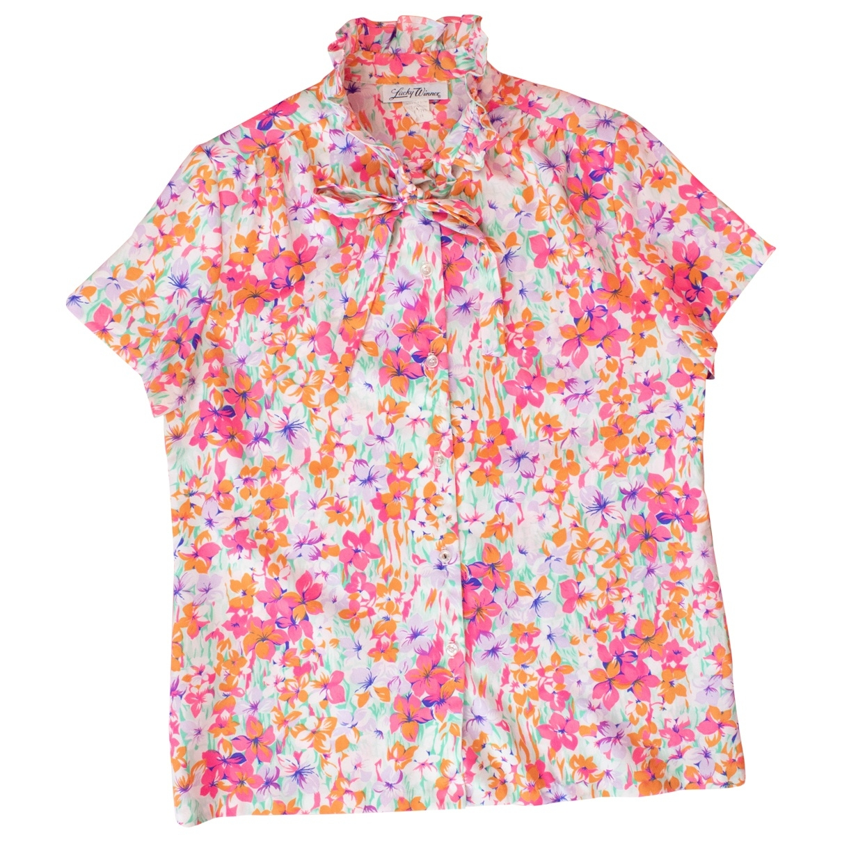 Non Signé / Unsigned \N Multicolour  top for Women 14 UK