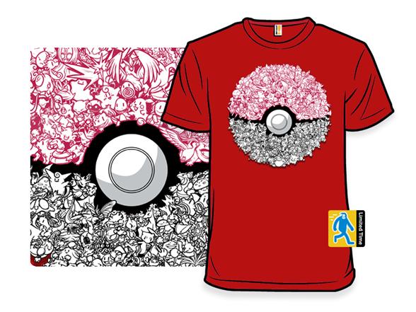 Doodlemon T Shirt