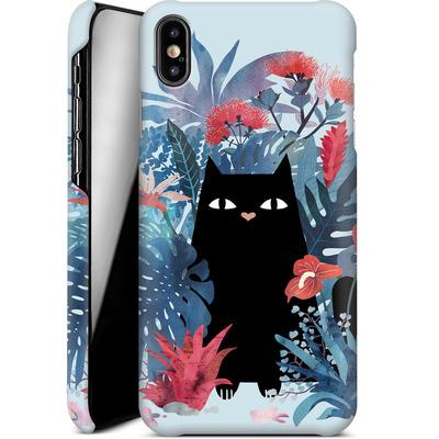 Apple iPhone XS Max Smartphone Huelle - Popoki Blue von Little Clyde