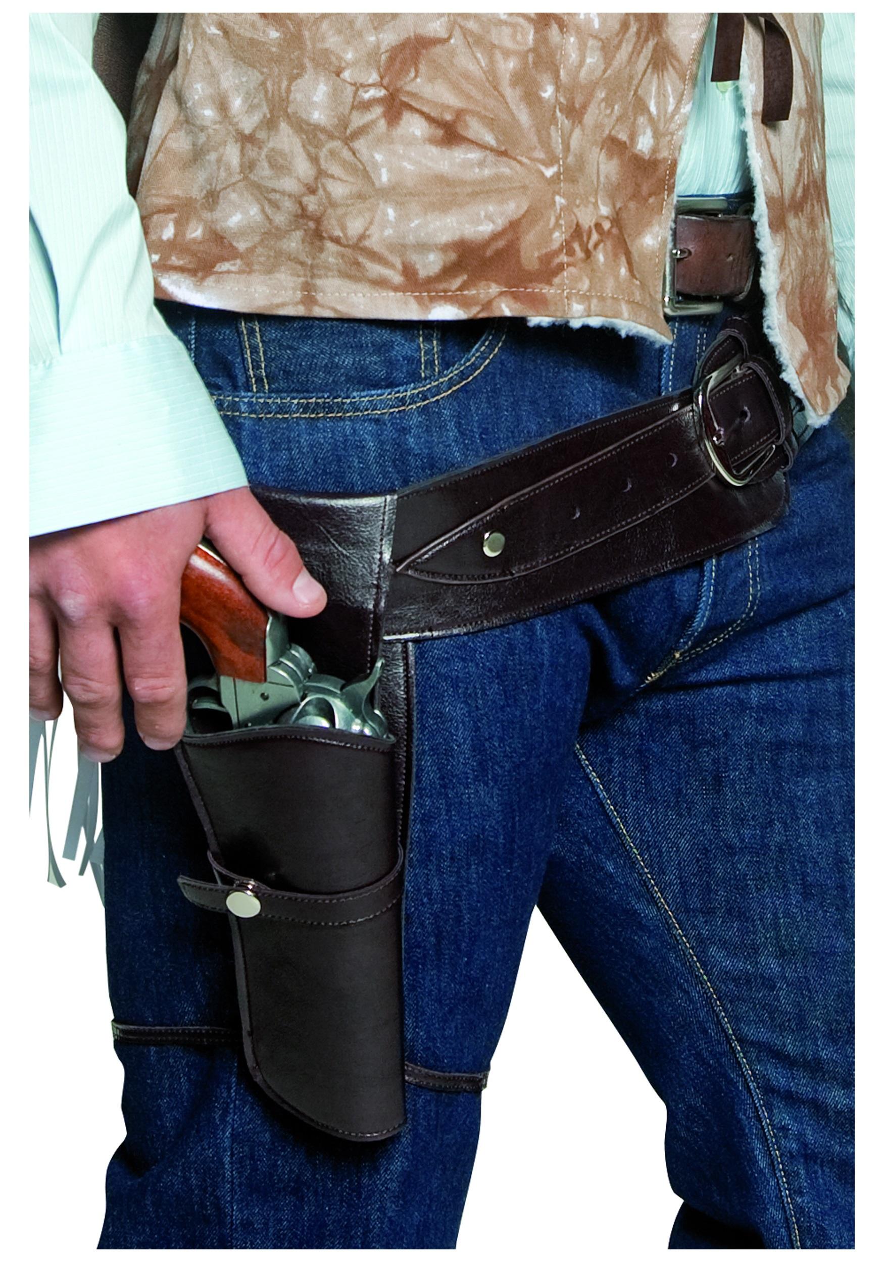 Western Gunman Revolver Holster and Belt