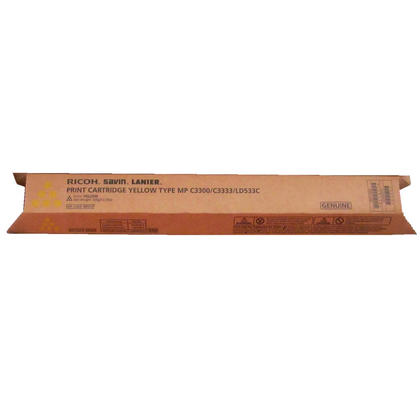 Ricoh 841277 Original Yellow Toner Cartridge 15000 Pages (841421)