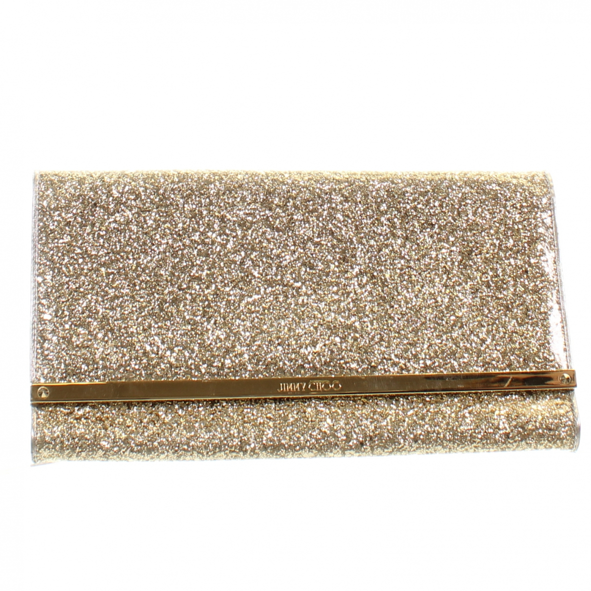 Jimmy Choo N Gold Leather Clutch bag for Women N