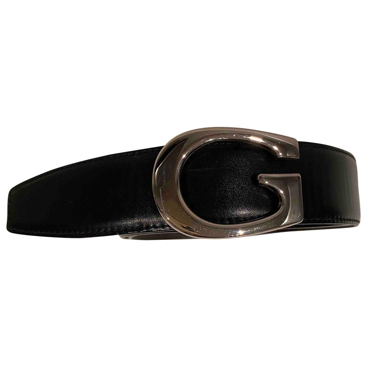 Gucci - Ceinture   pour femme en cuir - noir