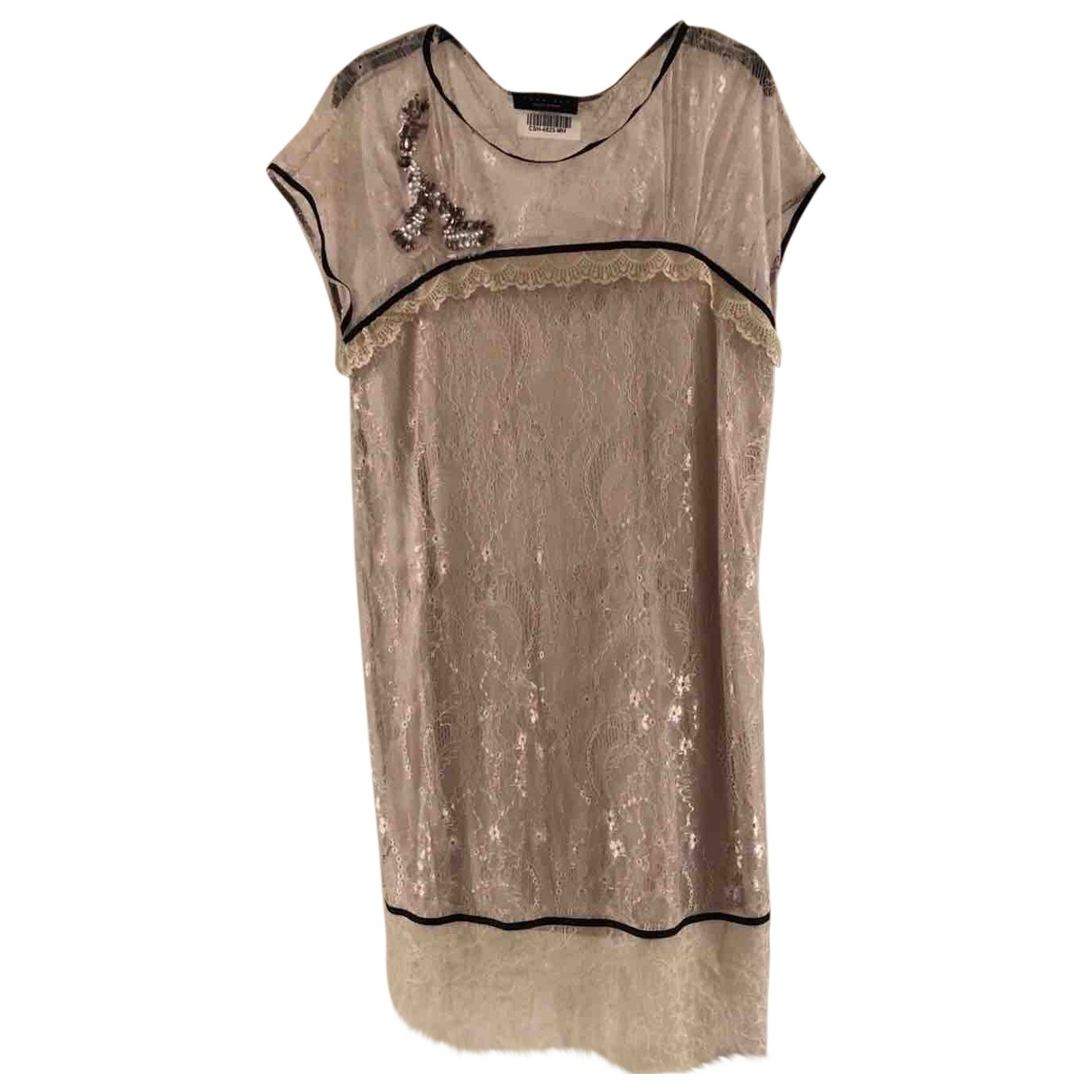 Twin Set \N Beige Lace dress for Women M International