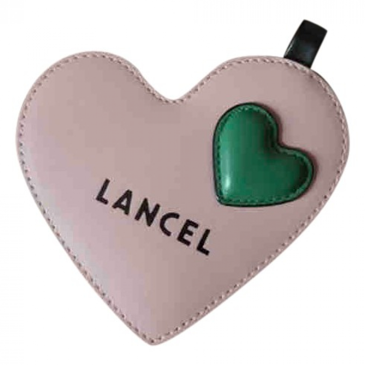 Lancel \N Kleinlederwaren in  Rosa Leder