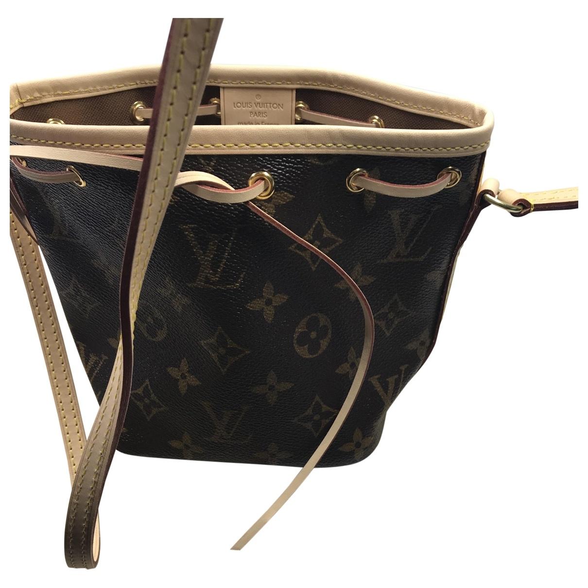 Louis Vuitton NéoNoé BB Brown Cloth handbag for Women \N