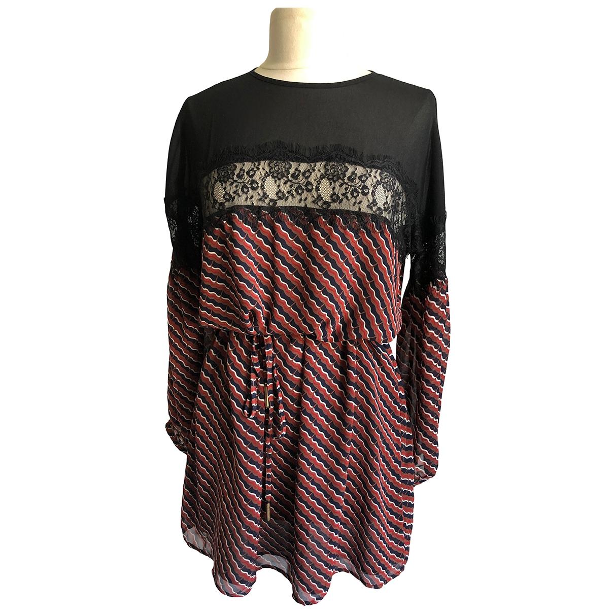 Non Signé / Unsigned Hippie Chic Multicolour dress for Women S International