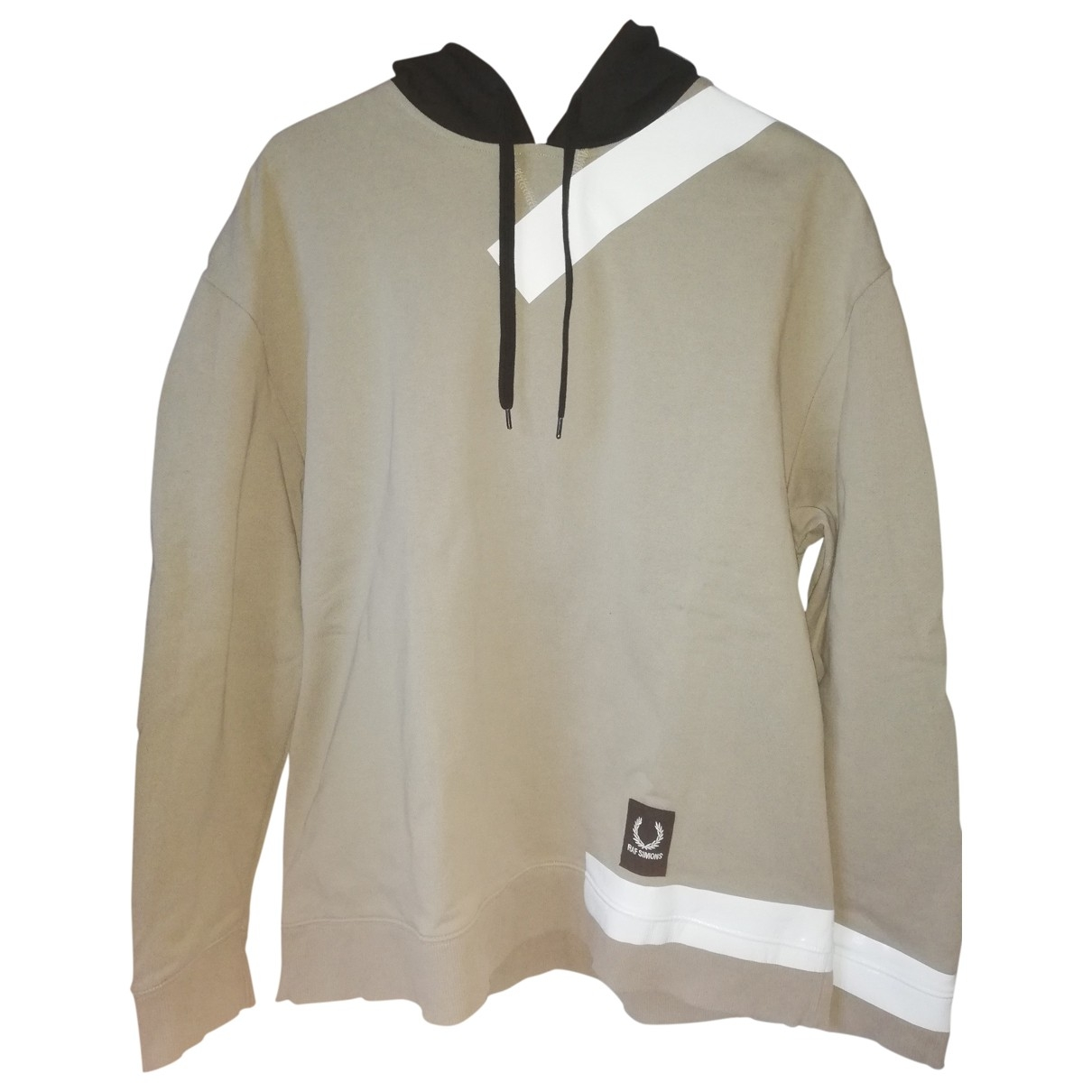 Raf Simons \N Pullover.Westen.Sweatshirts  in  Beige Baumwolle