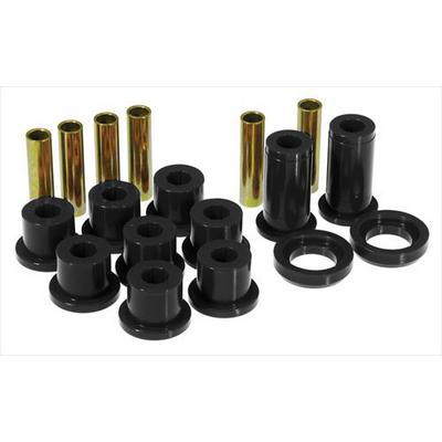 Prothane Motion Control Leaf Spring Eye/Shackle Bushing Kit (Black) - 7-1016-BL
