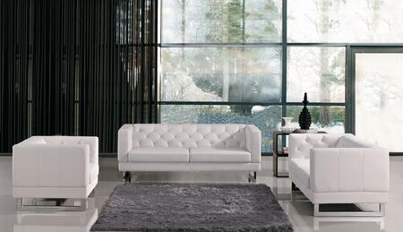 VGMB1169 Divani Casa Windsor - Modern Tufted Eco-Leather Sofa