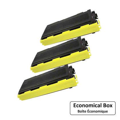 Compatible Brother TN-350 cartouche de toner noire - boite economique - 3/paquet