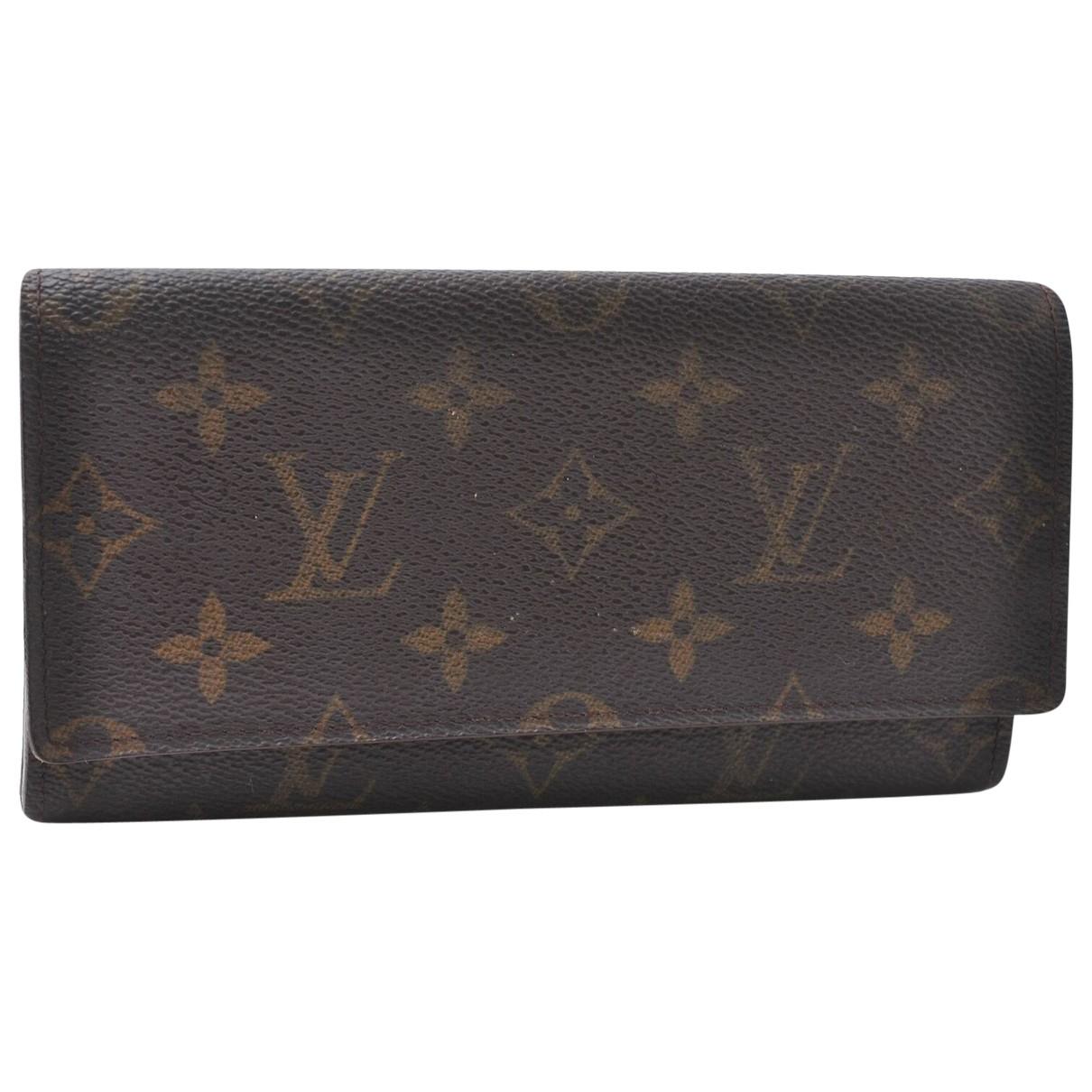 Louis Vuitton N Brown Cloth wallet for Women N