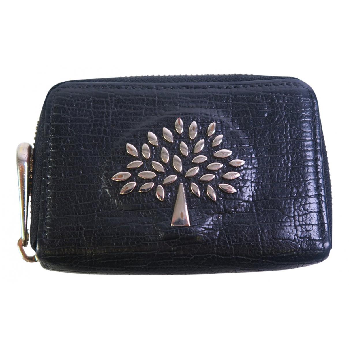 Mulberry - Portefeuille   pour femme en cuir - noir
