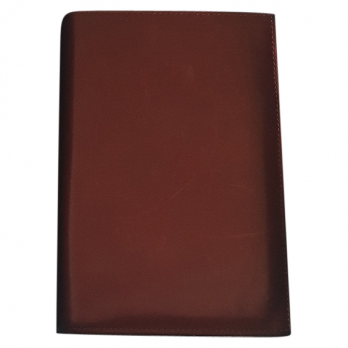Church's \N Brown Leather Small bag, wallet & cases for Men \N