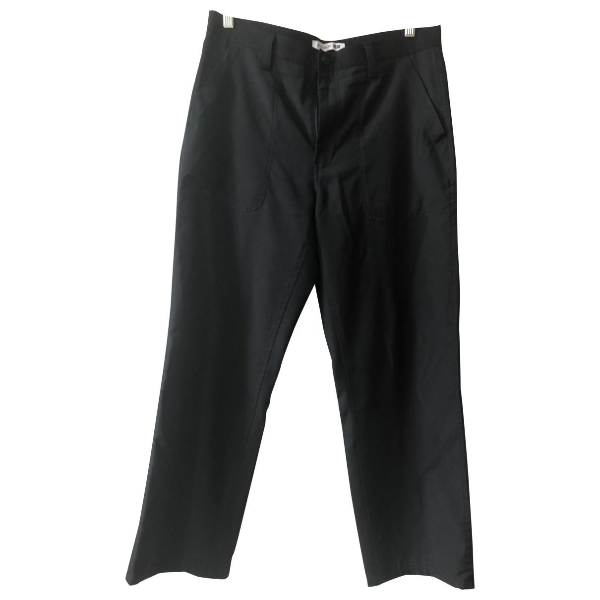 Uniqlo \N Black Wool Trousers for Men L International