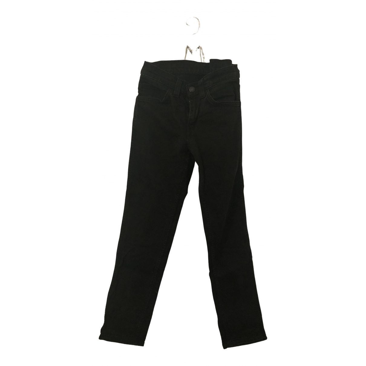 Levi's \N Black Denim - Jeans Trousers for Women 38 FR