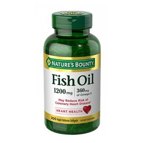 Fish Oil 6 X (180+180 Liguid Softgels) by Nature's Bounty