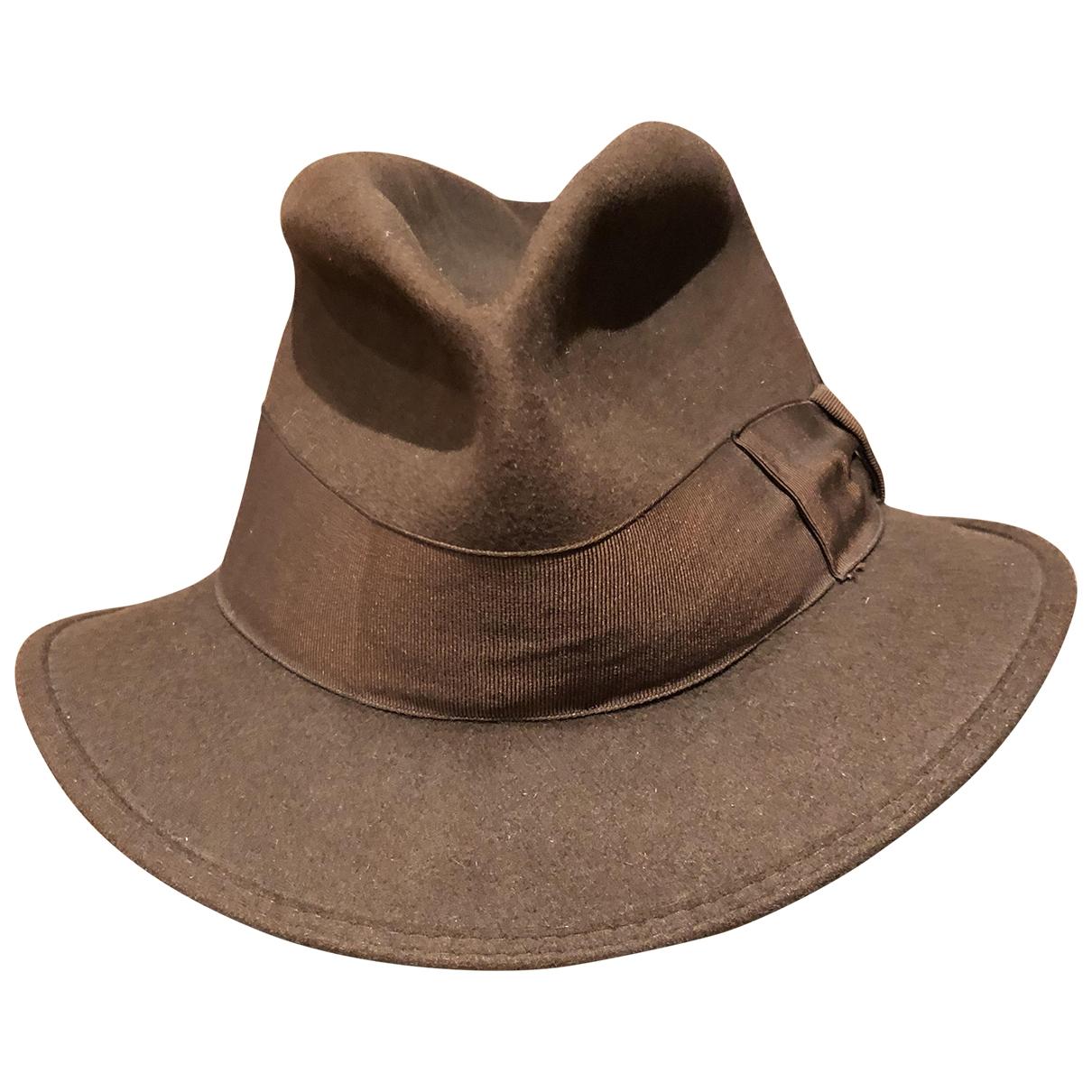 Borsalino - Chapeau   pour femme en autre - marron