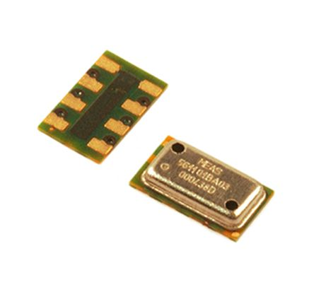 TE Connectivity MS560702BA03-50, Barometric Pressure Sensor, 1200mbar 0 → 3.6 V Output, 8-Pin QFN