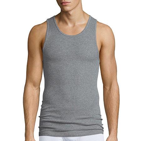 Stafford 4-pk. Cotton A-Shirts, X-large , Black