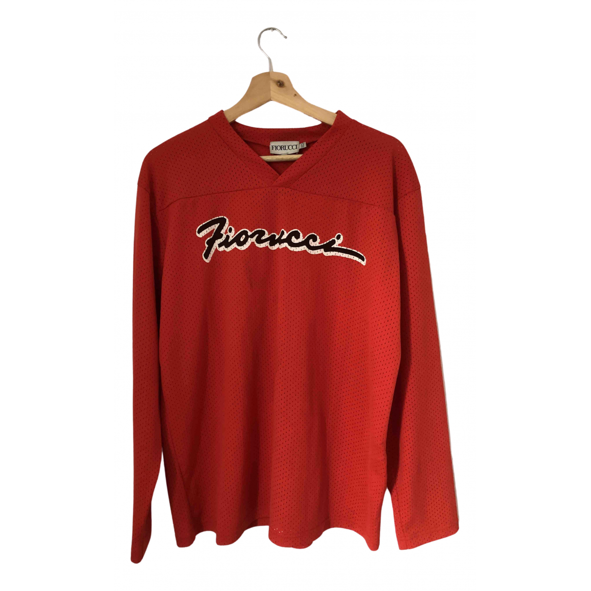 Fiorucci \N T-Shirts in  Rot Polyester