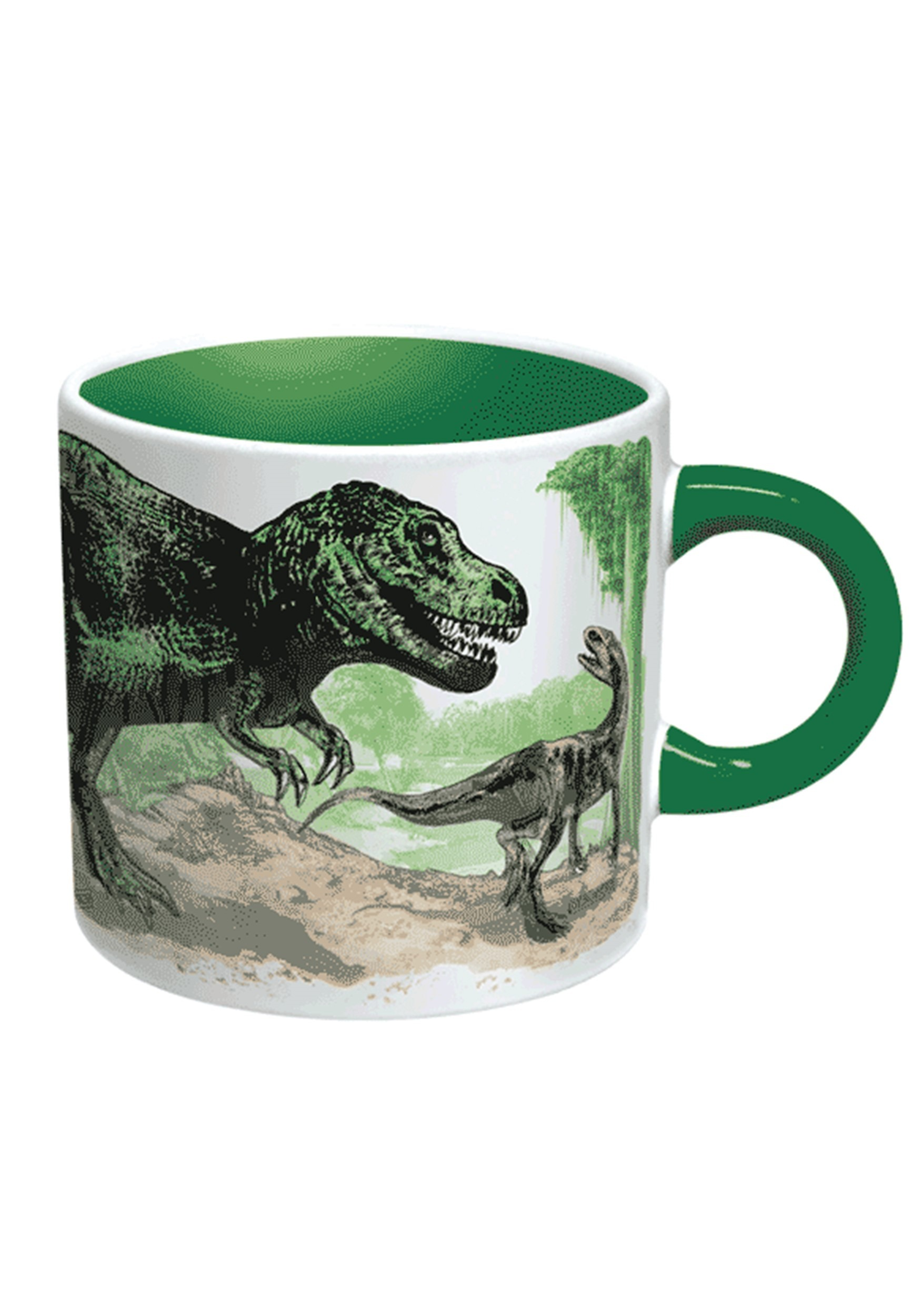 Heat Reveal Mug Disappearing Dinosaurs