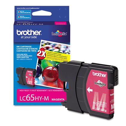 Brother MFC-6490CW Original Magenta Ink Cartridge, High Yield