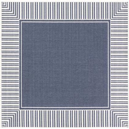 Alfresco ALF-9682 810 Square Cottage Rug in Charcoal