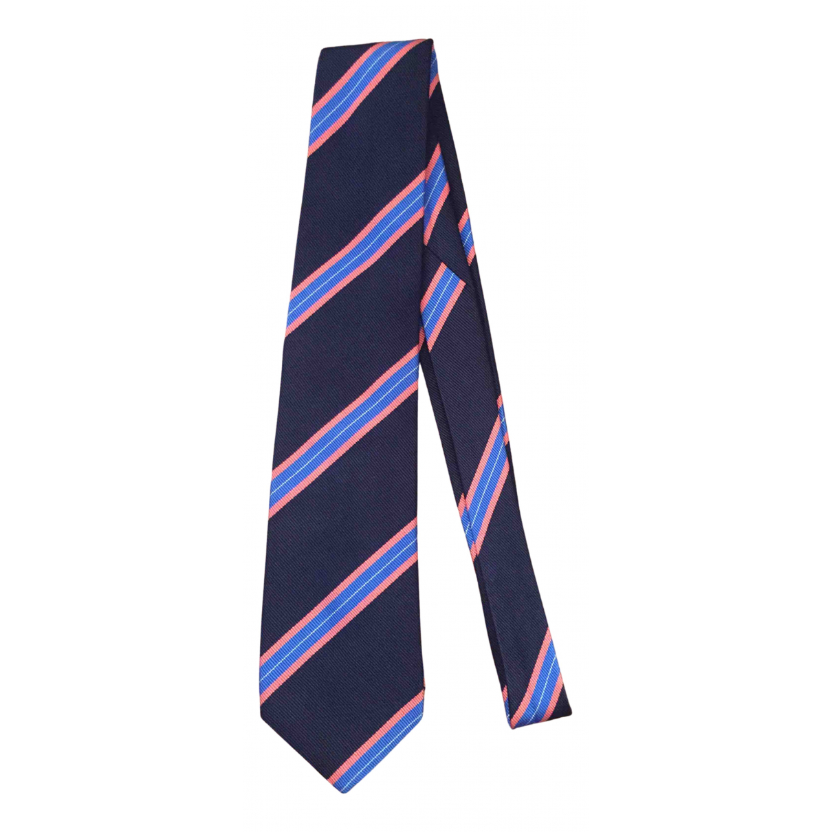 Kent And Curwen \N Krawatten in  Blau Seide