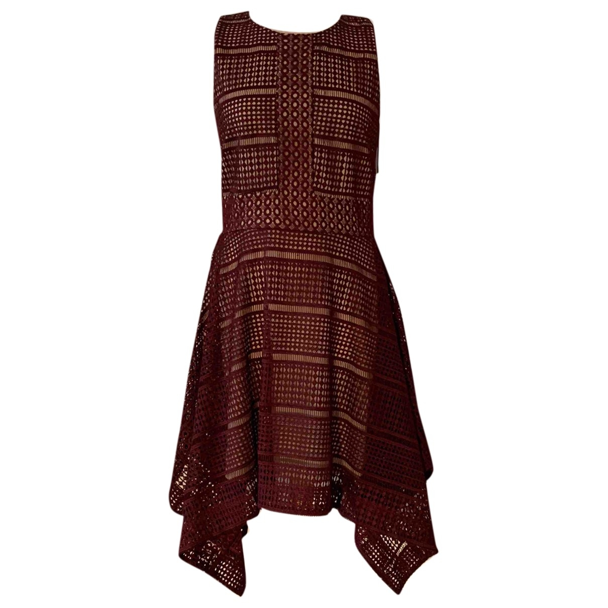 Keepsake The Label \N Kleid in  Bordeauxrot Polyester