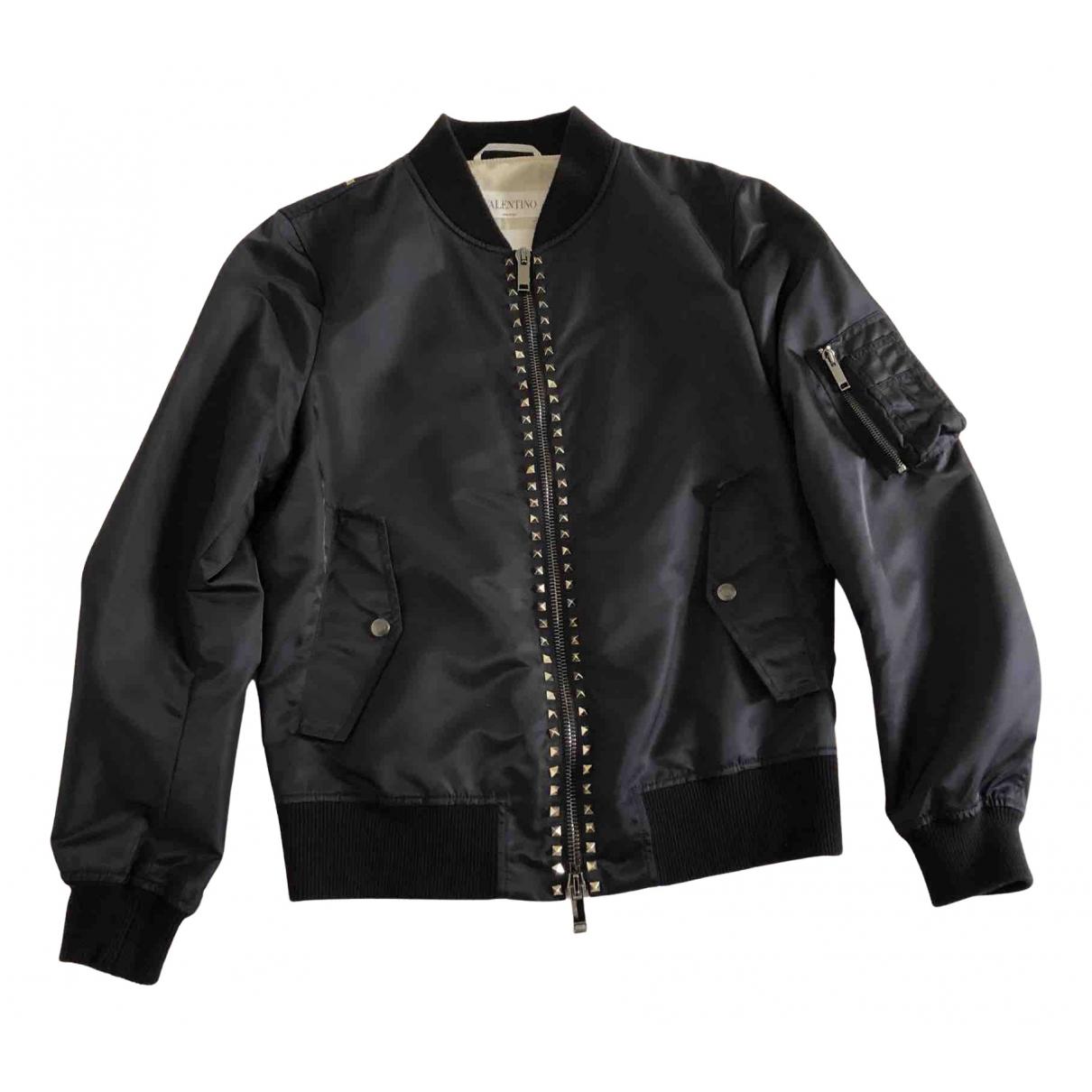 Valentino Garavani N Blue jacket  for Men 48 IT