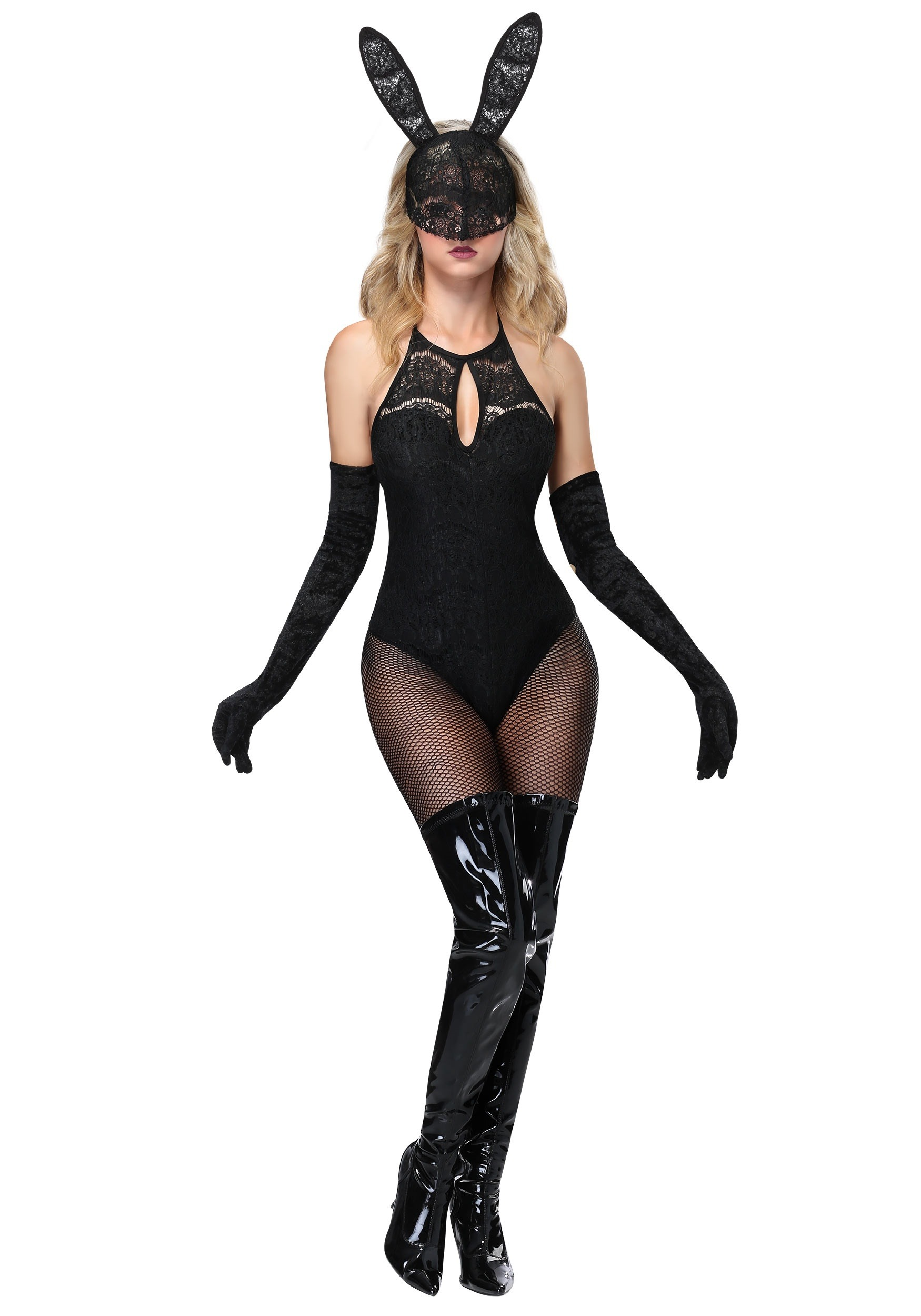 Lace Bunny Costume for Women