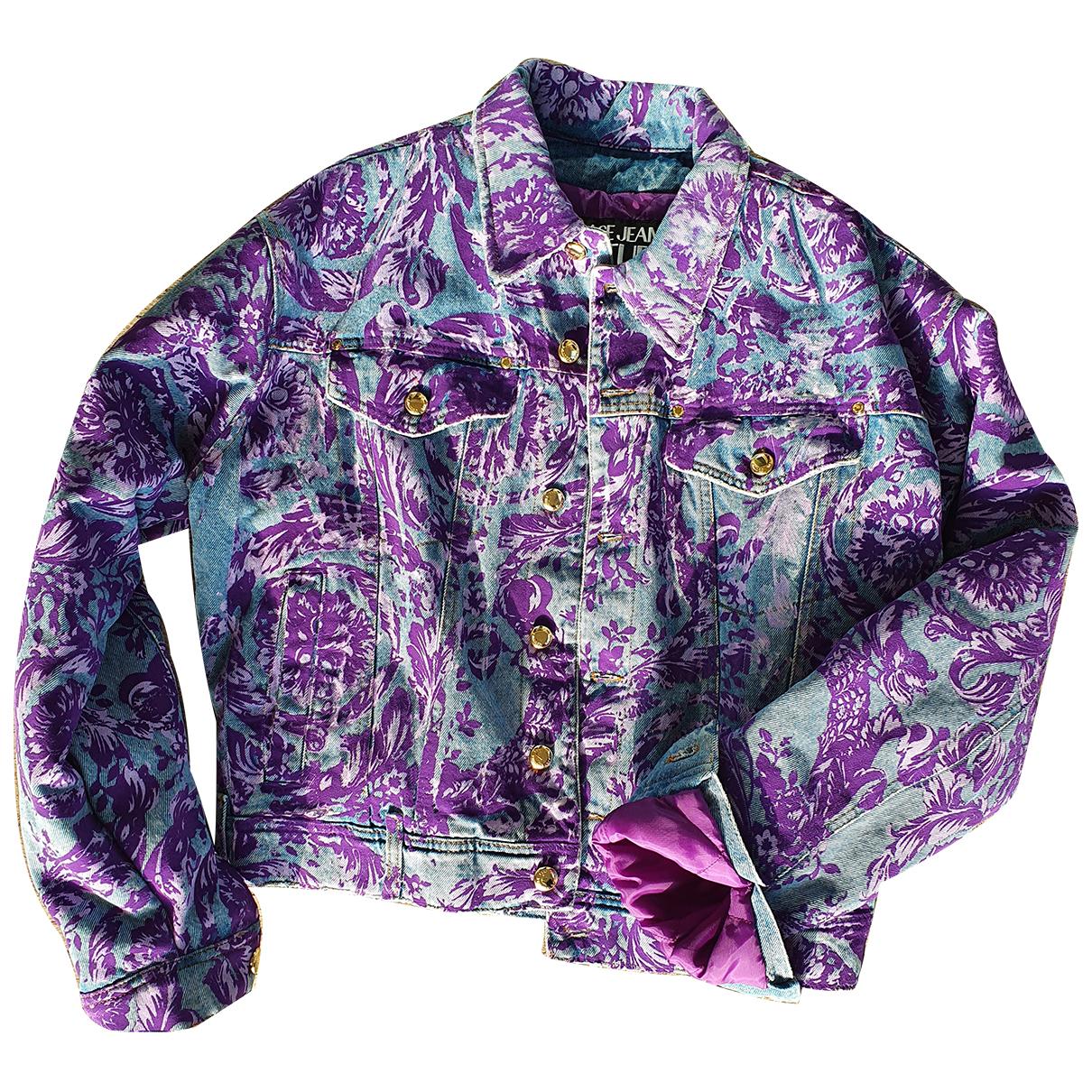 Versace Jean - Vestes.Blousons   pour homme en coton - multicolore