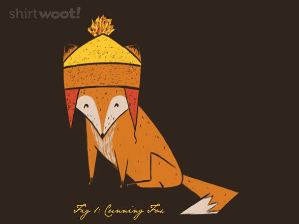 Cunning Fox T Shirt
