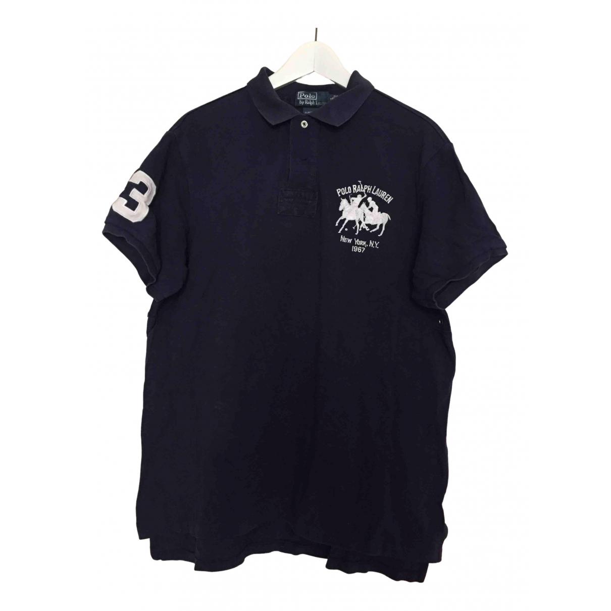 Polo Ralph Lauren \N Blue Cotton Polo shirts for Men XL International